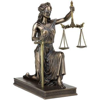Home Statuetten und Figuren Signes Grimalt Gerechtigkeit-Skala Und Schwert Dorado