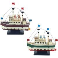 Home Statuetten und Figuren Signes Grimalt Metall-Boot Am 2. September U Multicolor