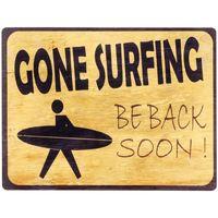 Home Gemälde, Leinwände Signes Grimalt Gone Surfin Wandteller Amarillo
