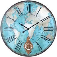 Home Uhren Signes Grimalt Welt Wanduhr Azul