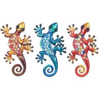 Home Statuetten und Figuren Signes Grimalt Glass Lizard 3U Multicolor