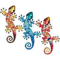 Home Statuetten und Figuren Signes Grimalt Kristalleidechse 3U Multicolor
