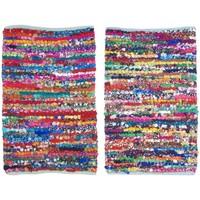 Home Teppiche Signes Grimalt Eingangsmatte Set 2 U Multicolor