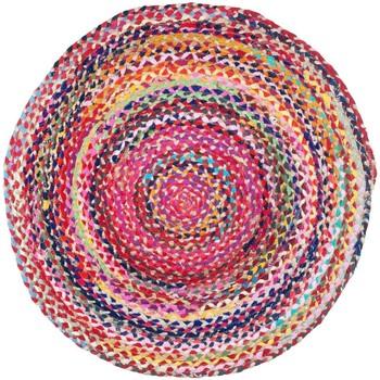 Home Teppiche Signes Grimalt Geflochtener Teppich Multicolor