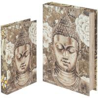 Home Koffer, Aufbewahrungsboxen Signes Grimalt Bücherboxen Set 2U Dorado