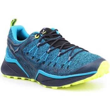 Schuhe Herren Wanderschuhe Salewa Trekkingschuhe  MS Dropline 61368-8376 blau