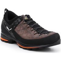 Schuhe Herren Wanderschuhe Salewa Trekkingschuhe  MS MTN Trainer 2 61371-7512 braun, schwarz