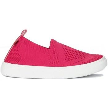 Schuhe Kinder Sneaker Low Big Star HH374102 Weiß, Rosa