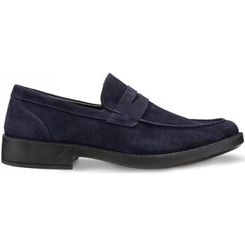 Schuhe Herren Slipper Docksteps DSM101602 Blau