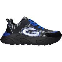 Schuhe Herren Sneaker Low Alberto Guardiani AGM003601 Schwarz