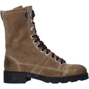 Schuhe Damen Boots OXS OXW190201 Beige