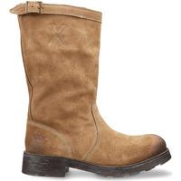 Schuhe Damen Boots OXS OXW100503 Beige