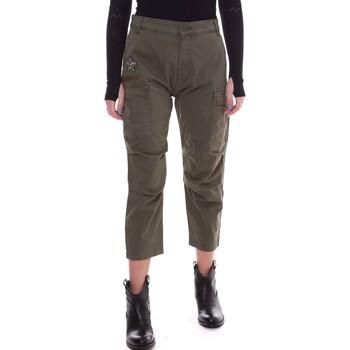 Kleidung Damen Hosen Fornarina BE171L90G29231 Grün