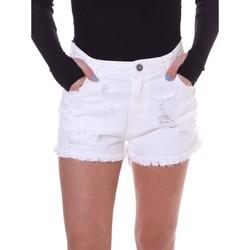 Kleidung Damen Shorts / Bermudas Fornarina BE172B92D877KM Weiß