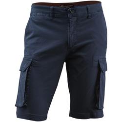 Kleidung Herren Shorts / Bermudas Lumberjack CM80747 005 602 Blau