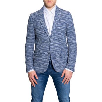 Kleidung Herren Jacken / Blazers Antony Morato MMJA00442-FA850253 Blu