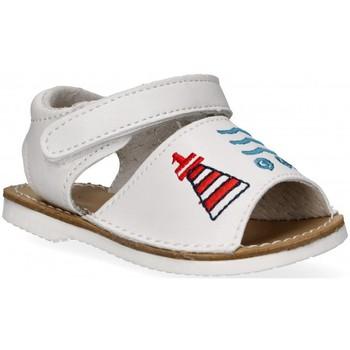 Schuhe Mädchen Sandalen / Sandaletten Bubble 54800 weiss