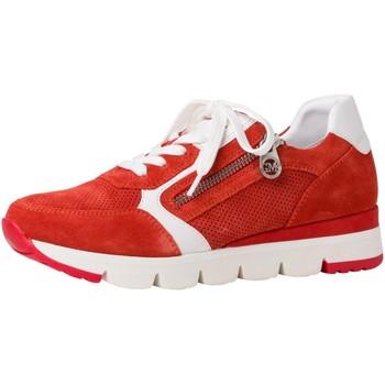 Schuhe Damen Sneaker High Marco Tozzi Schnuerschuhe Da.-Schn?rer 2-2-83703-26 orange