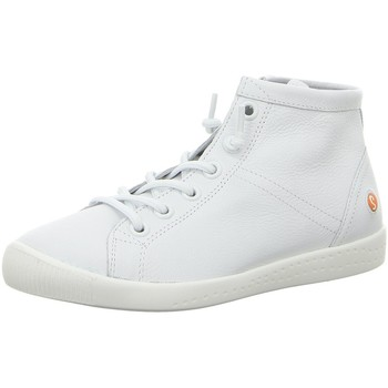 Schuhe Damen Sneaker High Softinos Stiefeletten Isleen P900586008 weiß