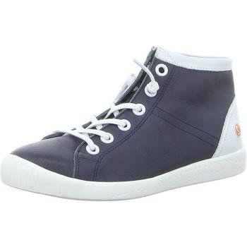 Schuhe Damen Sneaker High Softinos Stiefeletten Isleen P900586009 blau