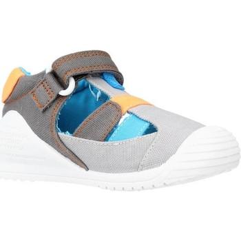 Schuhe Jungen Sandalen / Sandaletten Biomecanics 212223 Grau