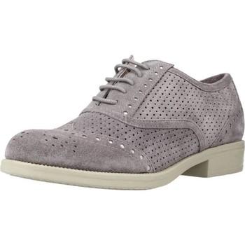 Schuhe Damen Derby-Schuhe Stonefly CLYDE 12 VELOUR Grau