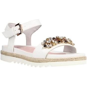 Schuhe Damen Sandalen / Sandaletten Stonefly AVRIL 1(334-13)NAPPA Weiß