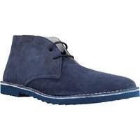 Schuhe Herren Boots Stonefly 106260SUPER 1 VELOUR PRINT (1016) Blau