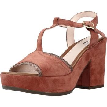 Schuhe Damen Sandalen / Sandaletten Stonefly CAROL 2 VELOUR GLITT Brown