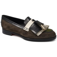 Schuhe Mädchen Slipper Santoni  Grün