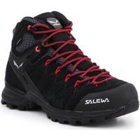 Schuhe Damen Wanderschuhe Salewa Buty trekkingowe  WS Alp Mate Mid WP 61385-0998 schwarz