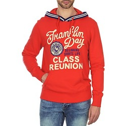 Kleidung Herren Sweatshirts Franklin & Marshall GOSFORD Orange