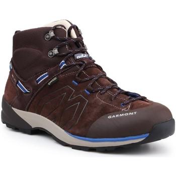 Schuhe Herren Wanderschuhe Garmont Trekkingschuhe  Santiago GTX 481240-217 braun