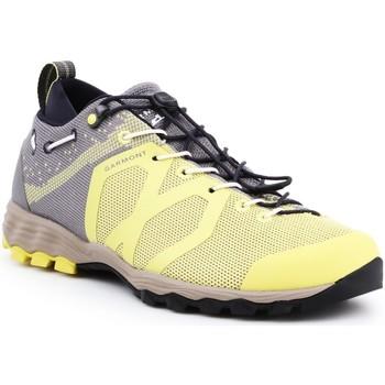Schuhe Damen Wanderschuhe Garmont Trekkingschuhe  Agamura Knit WMS 481036-605 gelb, grau