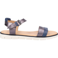 Schuhe Damen Sandalen / Sandaletten Darkwood Sandalen Blau/Silber