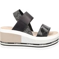 Schuhe Damen Sandalen / Sandaletten Bugatti Sandalen Schwarz/Weiß