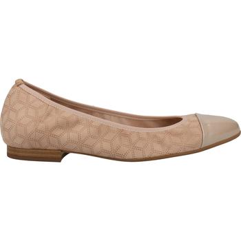 Schuhe Damen Ballerinas Peter Kaiser Ballerinas Beige