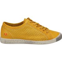 Schuhe Damen Sneaker Low Softinos Sneaker Yellow