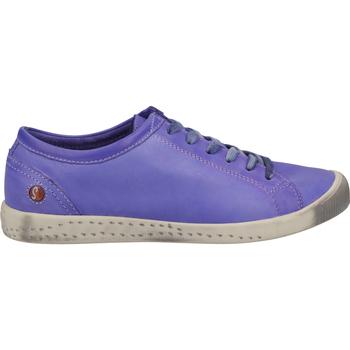 Schuhe Damen Sneaker Low Softinos Sneaker Violett