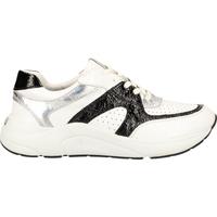 Schuhe Damen Sneaker Low Caprice Sneaker Weiß/Schwarz