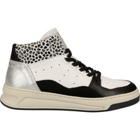 Schuhe Damen Sneaker High Bullboxer Sneaker Weiß/Schwarz
