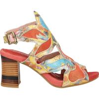 Schuhe Damen Sandalen / Sandaletten Laura Vita Sandalen Rot