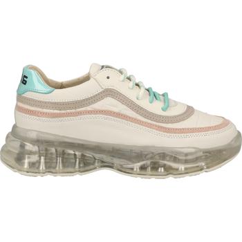 Schuhe Damen Sneaker Low Bronx Sneaker Weiß/Beige