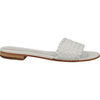Schuhe Damen Pantoffel Melvin & Hamilton Pantoletten Weiß