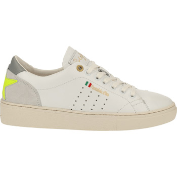 Schuhe Damen Sneaker Low Pantofola d'Oro Sneaker Weiß/Gelb