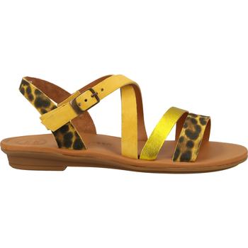 Schuhe Damen Sandalen / Sandaletten Paul Green Sandalen Gelb