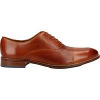 Schuhe Herren Derby-Schuhe Salamander Businessschuhe Tan