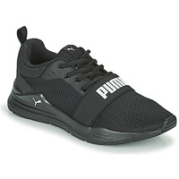 Schuhe Jungen Sneaker Low Puma WIRED JR Schwarz