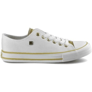 Schuhe Damen Sneaker Low Big Star HH274458 Weiß