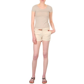 Kleidung Damen Shorts / Bermudas Franklin & Marshall MACQUARIE Beige
